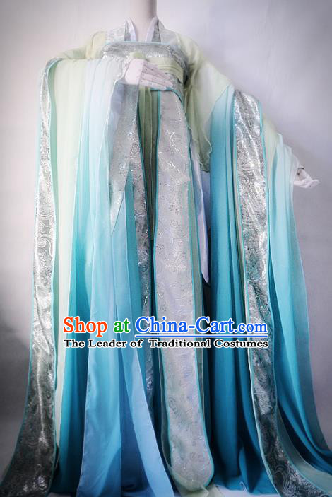 Chinese Ancient Cosplay Princess Fairy Costume Tang Dynasty Nobility Lady Hanfu Dress for Women
