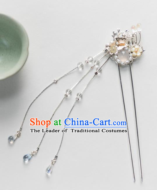Chinese Ancient Handmade Hair Accessories Hanfu Hairpins Headwear for Women
