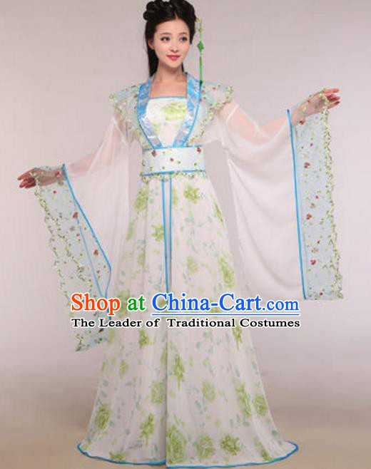 Traditional Chinese Ancient Fairy Dance Costume Tang Dynasty Imperial Concubine Hanfu Dress for Women