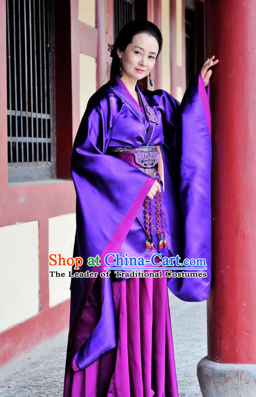 Traditional Chinese Ancient Imperial Concubine Hanfu Dress Qin Dynasty Imperial Consort Zhao Embroidered Historical Costume for Women