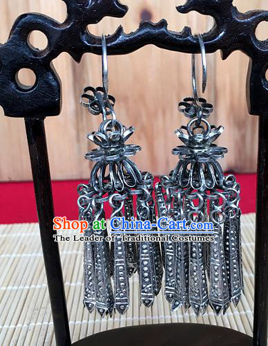 Chinese Traditional Ornaments Accessories Ancient Earrings Pendant for Women