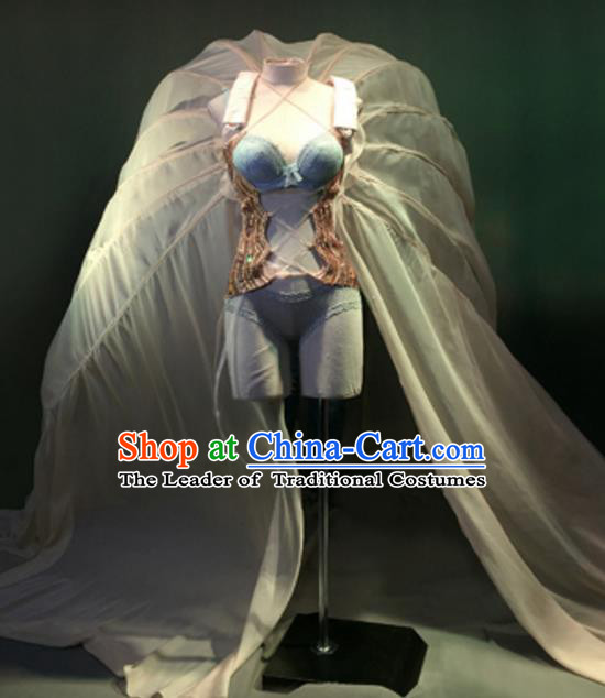 Top Grade Models Show Costume Stage Performance Bikini Dress for Women