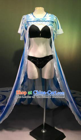 Top Grade Models Show Costume Stage Performance Catwalks Bikini Dress for Women