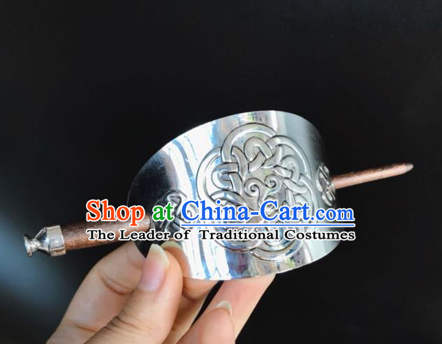Chinese Traditional Ancient Hair Accessories Swordsman Hairpins Tuinga for Men