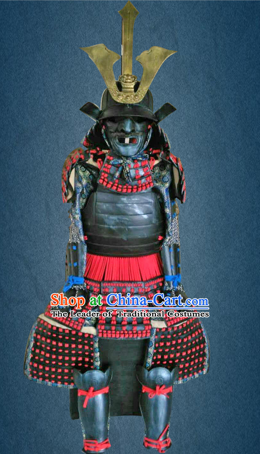 Authentic Japanese Samurai Armor for Sale