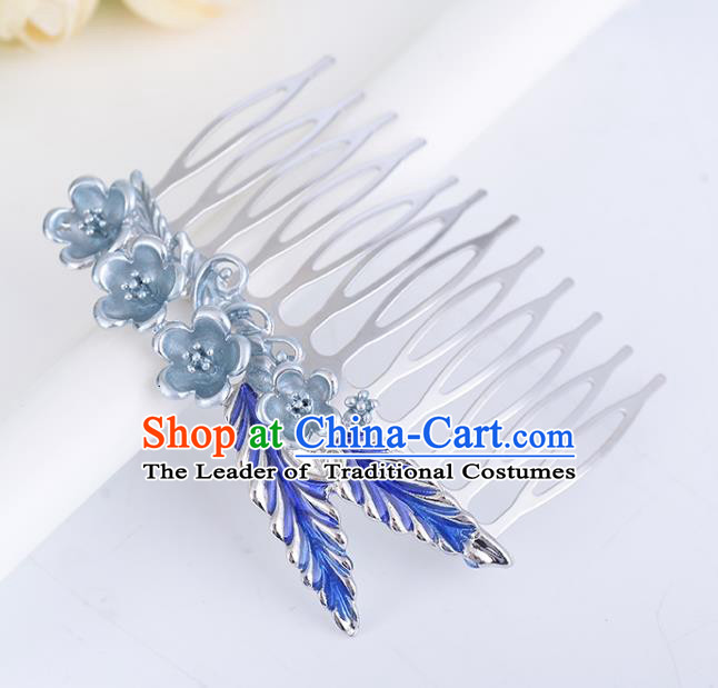 Chinese Traditional Ancient Hair Accessories Hanfu Hair Comb Hairpins Headwear for Women