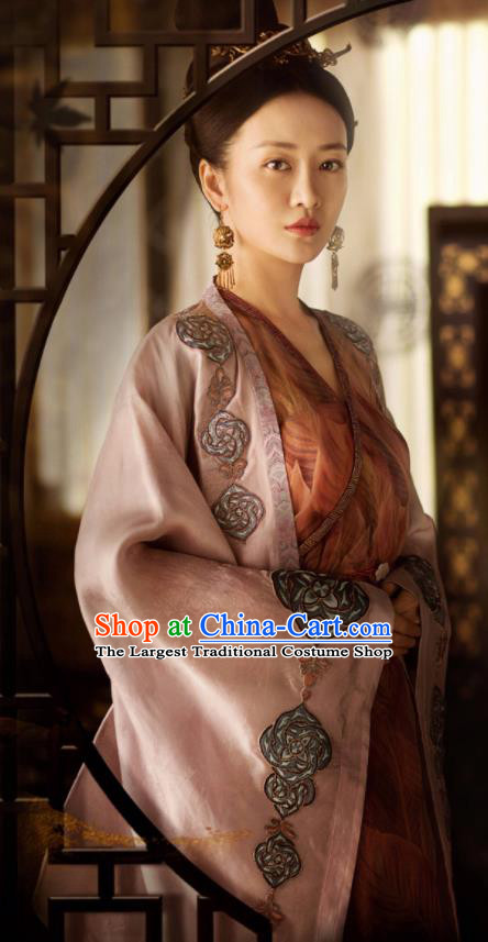 Ancient Chinese Tang Dynasty Palace Hanfu Dress The Rise of Phoenixes Imperial Consort Costume for Women