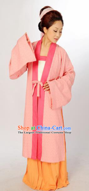 Traditional Chinese Song Dynasty Hostess Costume Ancient Hanfu Dress for Women