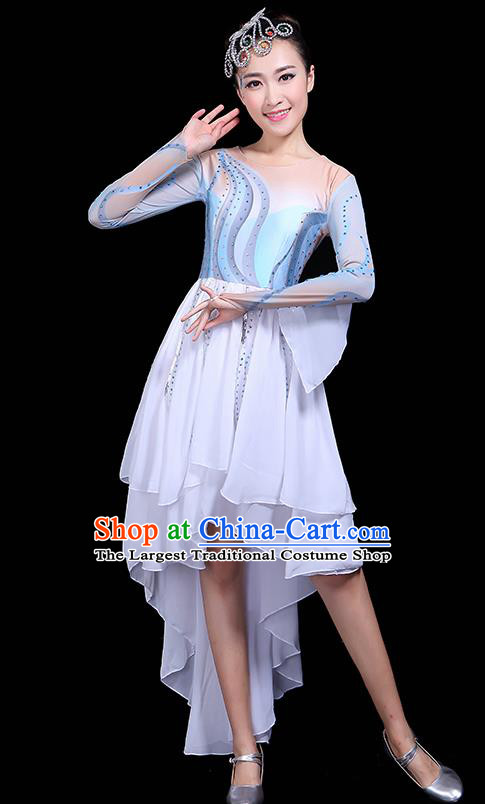 Professional Modern Dance Dress Stage Performance Chorus Costume for Women