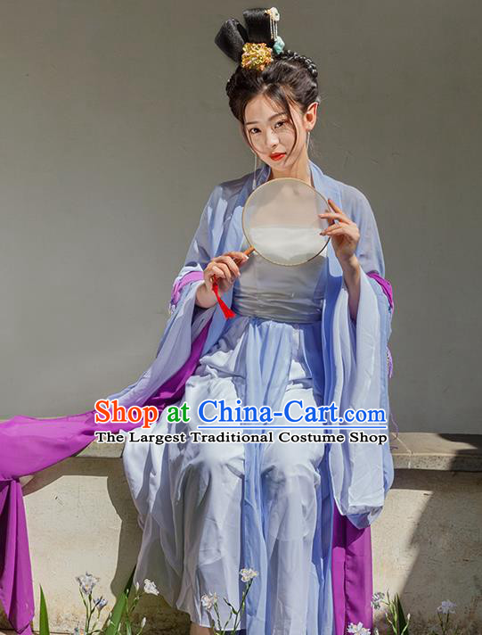 Traditional Chinese Tang Dynasty Imperial Consort Dresses Ancient Drama Palace Lady Costumes for Women