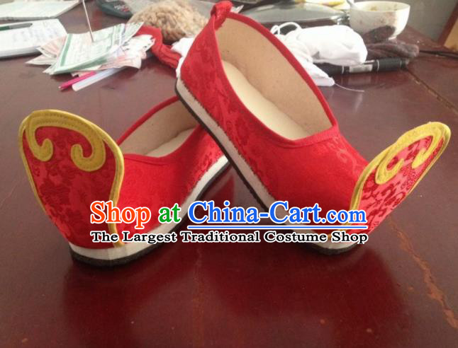 0a096ee3650e Traditional Chinese Wedding Shoes Ancient Princess Shoes Red Embroidered Shoes for Women.jpg
