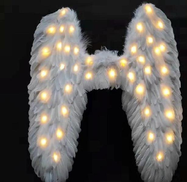 Professional Stage Performance LED Lights Luminous Big Wings Butterfly Dance Costumes Dancing Costume Complete Set