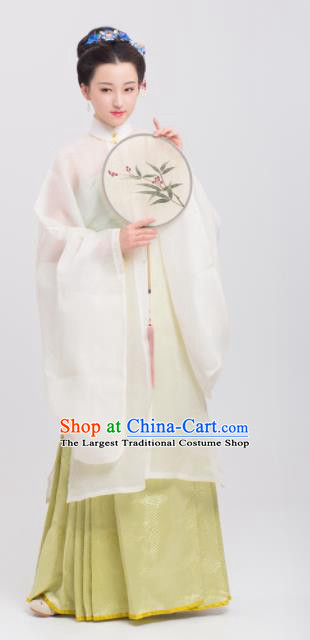 Chinese Traditional Ming Dynasty Historical Costumes Complete Set Ancient Imperial Consort Hanfu Dress for Women