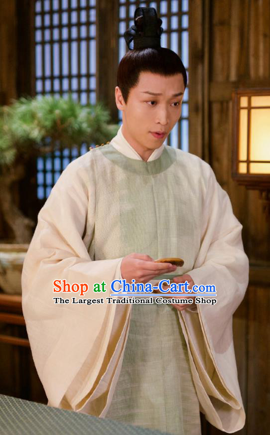 Chinese Ancient Lord of Dipper Si Ming Drama Love and Destiny Swordsman Replica Costumes for Men