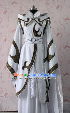 Chinese Ancient Swordsman Costume Traditional Cosplay Royal Highness Clothing for Men