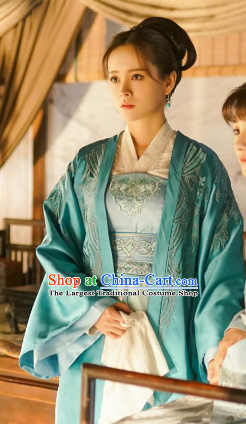 Drama The Story Of MingLan Chinese Ancient Song Dynasty Nobility Lady Historical Costume for Women