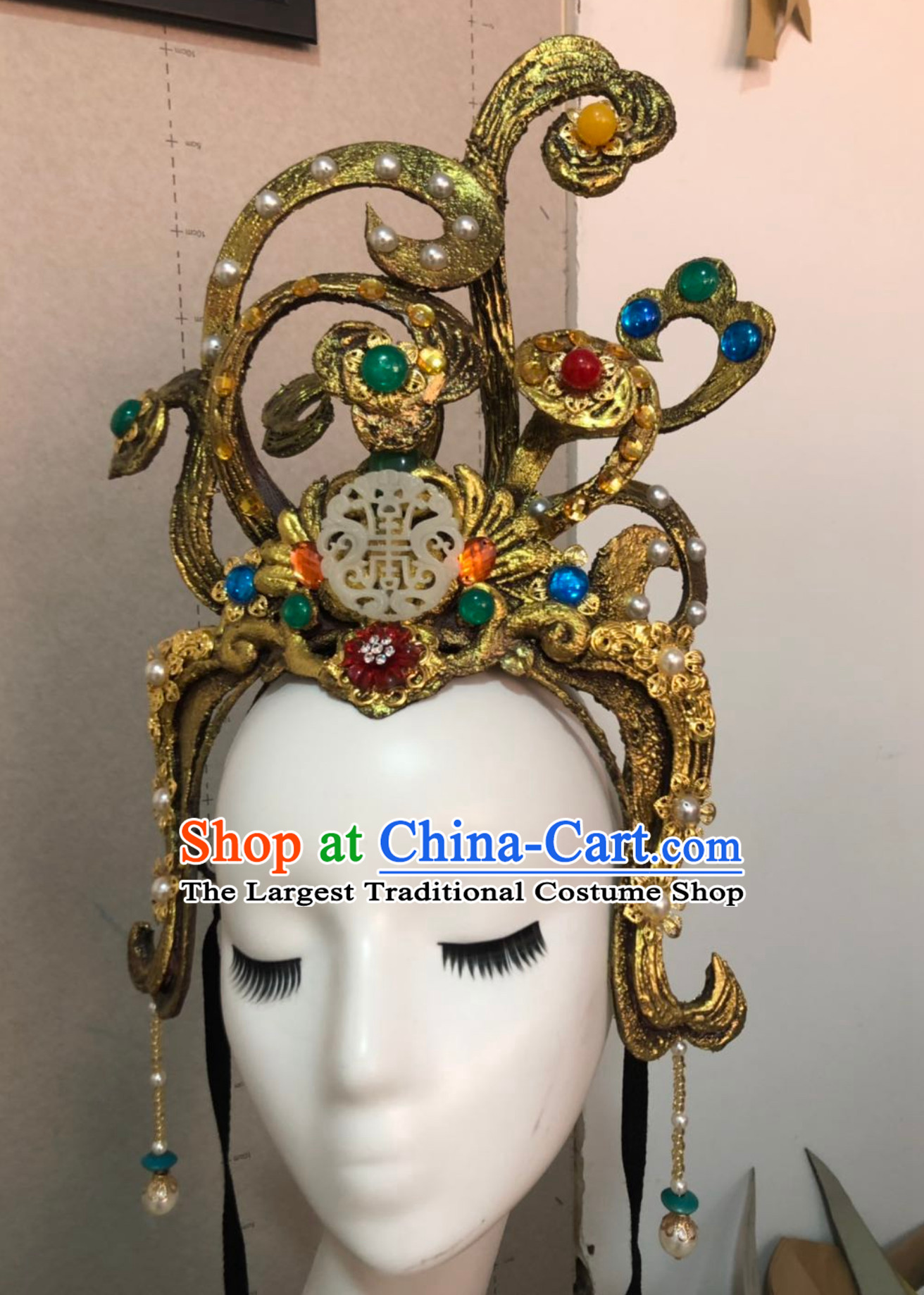 Chinese Classical Flying Angel Fei Tian Handmade Hair Jewelry