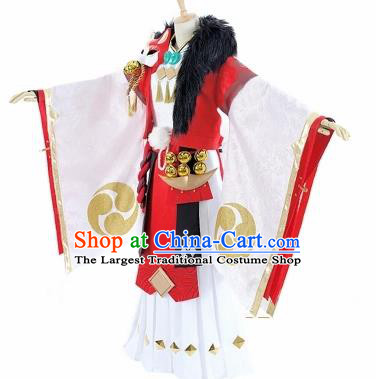 Chinese Traditional Ancient Swordsman Costume Cosplay Royal Highness Clothing for Men
