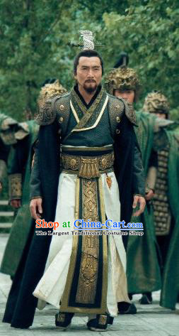 Chinese Ancient Shang Dynasty King Zhou Clothing Drama The Legend of Deification Costume for Men