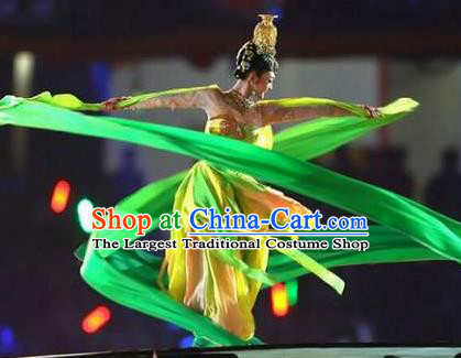 Traditional Chinese Classical Dance Flying Apsaras Costume Beautiful Ribbon Dance Dress for Women