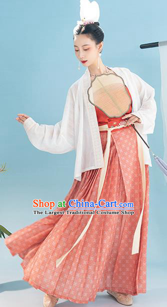 China Ancient Court Women Apparels Traditional Clothing Song Dynasty Imperial Consort Historical Costumes